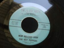 ZZ7 SEA-HORN 101 THE HOT PEPPERS R&B SURF ROCKER SURFIN WITH THE MONKEY ORLEANS