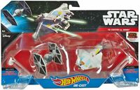 Hot Wheels Star Wars Starships Rebels Ghost vs. TIE Fighter Figures Toy Toys New