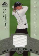 2005 SP SIGNATURE AUTHENTIC FABRICS ANNIKA SORENSTAM TOURNAMENT WORN SHIRT