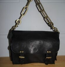 MULBERRY BROOKE BLACK LEATHER HANDBAG