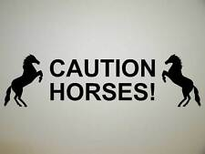 HORSE FLOAT DECAL LARGE Trailer stud stallion Sticker Truck