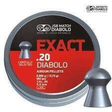 JSB Exact Diabolo .20 Air Rifle Pellets Air Gun Ammunition Full Tins of 500 5.1