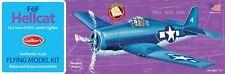 Guillow's Grumman F6F Hellcat Balsa Wood Model Airplane Kit, WWII  GUI-503