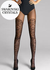 WOLFORD HENNA SPARKLE Tights in Black Sz:S Ret:$260 New/Packaged