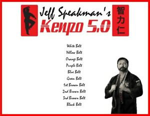 AMERICAN KENPO COMPLETE WHITE TO BLACK BELT (10) DVD SET