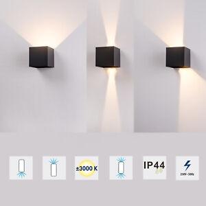 Grafner® LED Wandlampe Wandleuchte Innen Außenlampe Flur Strahler Up Down Neu