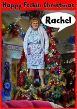 personalised Christmas card Mrs Browns Boys Any name/relation