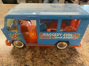 Vintage Buddy L raggedy Ann and Andy Camper Truck Van W/ characters