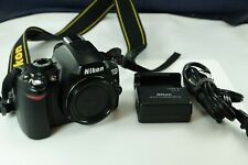 Nikon D60 10.2MP Digital SLR Camera Body OEM Charger and Battery Included