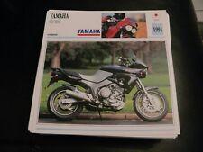 Fiche card CARTONNée yamaha 850 TDM  japon 1991