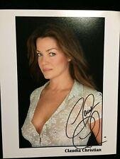 Claudia Christian Susan Ivanova Babylon 5 8x10 Autographed Signed Photo B5