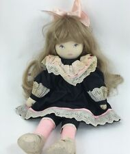 "Pauline Bjonness-Jacobsen Cloth Doll 19"""