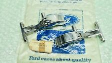 ANGLIA 105E GENUINE FORD NOS PAIR OF OPENING REAR QUARTER VENT WINDOW TOGGLES