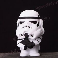 "New Star Wars 3.9"" Storm Trooper Doll Toy Figure Car Furnishing Articles/Gift"