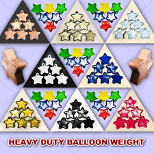 5-30 HEAVY DUTY STAR SHAPE BALLOON WEIGHT-Birthday Baby Shower Party Decoration