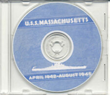 USS Massachusetts BB 59 CRUISE BOOK 1946 WWII   CD RARE