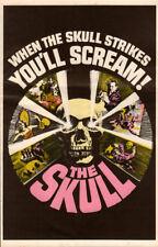 The Skull Original Herald 1965 Movie staring Peter Cushing  Christopher Lee
