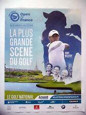 PUBLICITE-ADVERTISING :  OPEN DE FRANCE 100ème  2016 Golf,Rory McIlroy