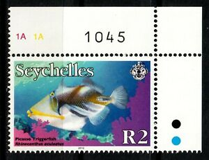 Seychelles stamps 2012 R2 MNH Fish