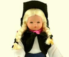 Dollhouse Dressed Cowgirl Caco DHS01652 Flexible Blond Braids Miniature