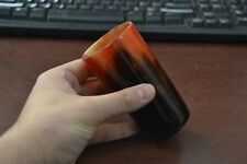 """Dyed Red Buffalo Horn Game Of Throne Medieval Drinking Ale Shot Cup 5"""" #Ye"""