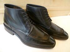 Noble Blue van Bommel full leather ankle boot UK 8.5 42.5 pointed split toe Rare