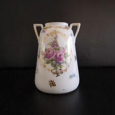 Mini vase porcelaine céramique art nouveau fait main handmade France