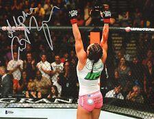 Cat Zingano Signed UFC 11x14 Photo BAS COA Autograph 178 TKO Win vs Amanda Nunes