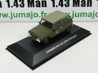 CVW4E 1/43 IXO Direkt CITROËN 2cv of the world 2CV FAF 4X2 1978 Méhari Portugal