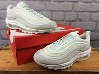 NIKE LADIES AIR MAX 97 BULLET BARELY GREEN NEOPRENE LEATHER TRAINERS RRP £165 T