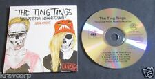 THE TING TINGS 'SOUNDS FROM NOWHERESVILLE' 2012 ADVANCE CD