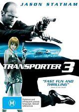 Transporter 03 (DVD, 2009) region 4 (Jason Statham)