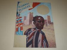 [DESSIN PRESSE BD] MARCEL THIERRY Jdes Voyages Cover GOUACHE ORIGINAL Maroc 1947