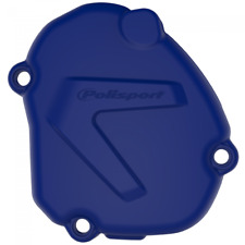 NEW POLISPORT IGNITION COVER PROTECTOR BLUE FOR YAMAHA YZ125 2005 - 2018