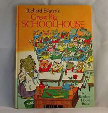 Richard Scarry's Great Big Schoolhouse 1969 Unabridged Vintage Childrens Book