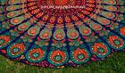 """Indian Mandala 72"""" Round Picnic Beach Rug Bohemian Tapestry Roundie Yoga Mat jk"""
