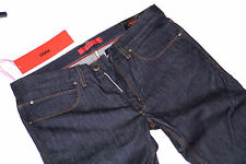Nouveau-Hugo Boss w33 l34 stretch-red 708-pure Denim-slim jeans - 33/34