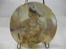 Friends Forever Collectible Plate Portraits Of Childhood 1984 Limited Edition