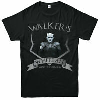 Walkers White Ale T-shirt, Game Of Thrones Winter Is Coming Gift Tee Top
