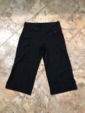 "Nike Capri Pants Womens Size M 8-10  ( 28-30 Waist X 17"" Inseam"