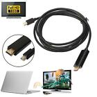 1.8M 6FT Mini Display Port DP To HDMI Male Adapter Cable For MacBook Pro Air MAC