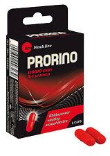 2 x ERO PRORINO LIBIDO PILLS FOR WOMEN Orgasm Enhancer Capsules Aphrodisiac HOT