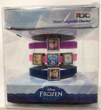 Disney Frozen ROXO Interchangable Charms 3pc Band Bracelet Set