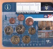 DENEMARKEN EUROSET - INFORMATION SET 2002 UITGIFTE KONINKLIJKE NEDERLANDSE MUNT