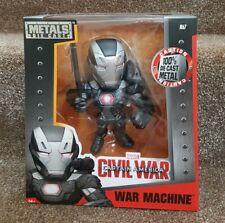 """Marvel Metals Die-Cast M67 Collectible 6"""" Figure War Machine Civil War Jada"""