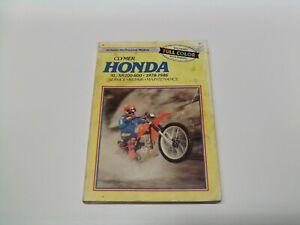 Clymer M319 Honda XL/XR200-600 1978-1986 Service Repair Maintenance
