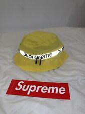Supreme Reflective Zip Crusher Yellow S/M