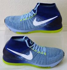 New Nike Shoes Air Zoom All Out Flyknit Blue Womens US Size 8.5 UK 6 EUR 40