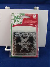 NEW INKADINKADO CLEAR STAMP SNOWFLAKE WINTER WONDERLAND HOLIDAY 60-30016