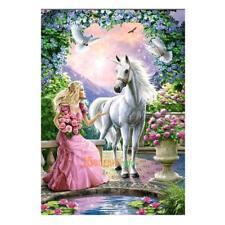 5D Horse Animal Beauty Diamond Painting Embroidery Cross Stitch DIY Home Decor
